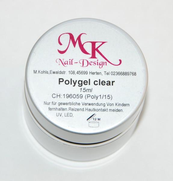 Polygel clear