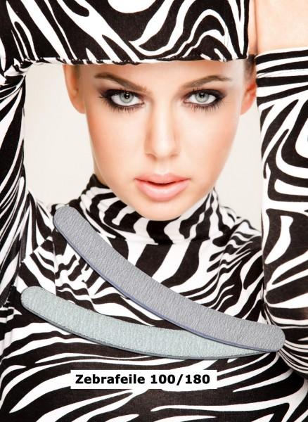 Zebra Profifeile Long-Live, ergonomic, Körnung 100/180