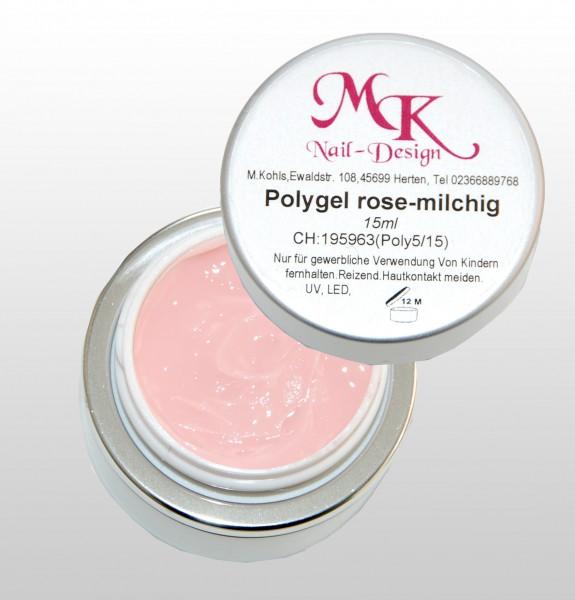 Polygel rose-milchig
