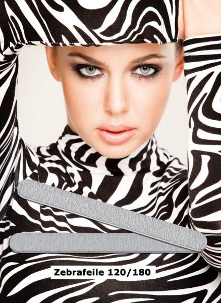 Zebra Profifeile Long-Live, gerade, Körnung 120/180